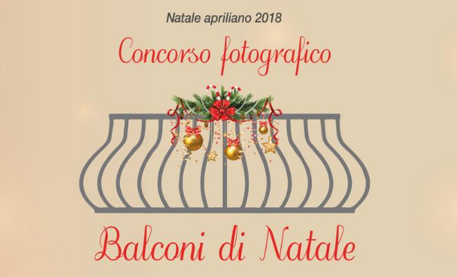 Concorso Balconi del Natale Apriliano 2018