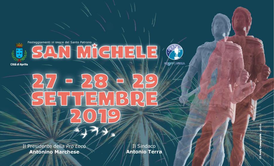 San Michele Data Calendario.San Michele 2019 Salotti Culturali Citta Di Aprilia