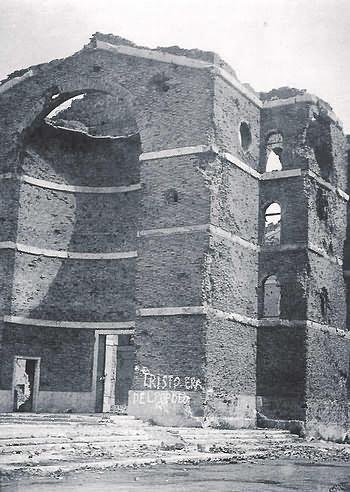 chiesa bombardata